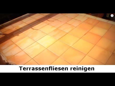 Terrassenfliesen Reinigen Balkonfliesen Reinigen Schützen - Fliesen richtig sauber bekommen