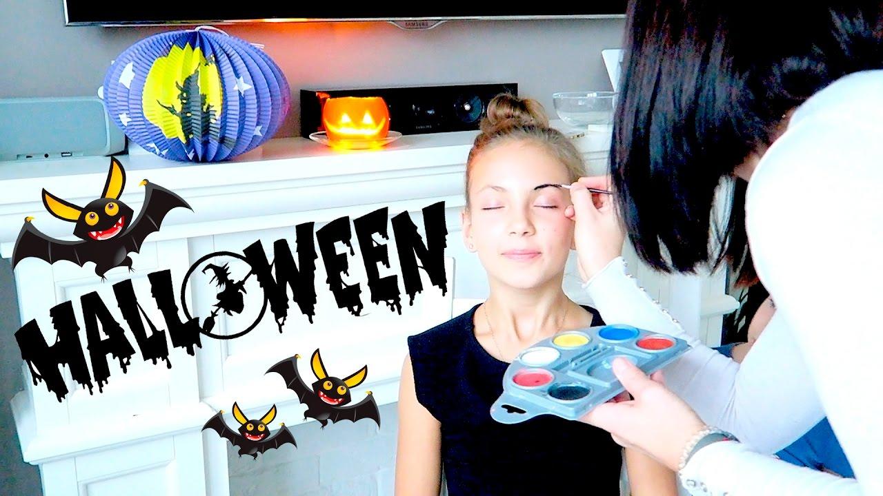 грим на хэллоуин видео урок