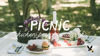 Summer Picnic Ideas - Honeysuckle