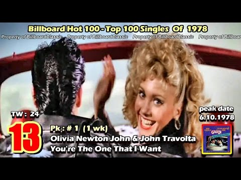 "1978 Billboard Hot 100 ""Year-End"" Top 100 Singles [ 1080p ]"