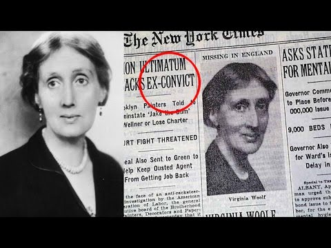 Unknown Facts about Virginia Woolf  Pastimers