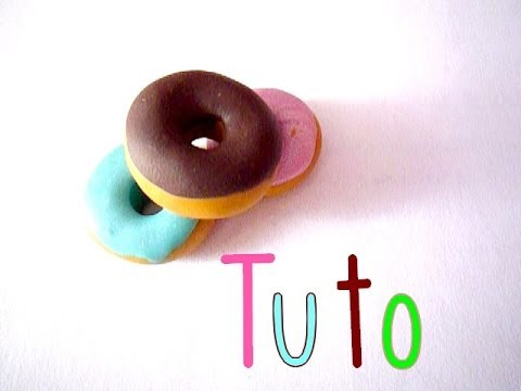 tuto fimo donuts youtube. Black Bedroom Furniture Sets. Home Design Ideas