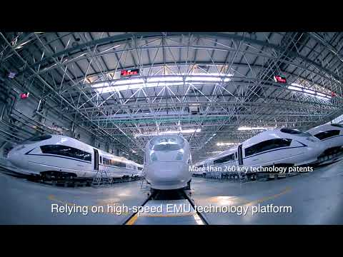 Manufactured by CRRC Tangshan