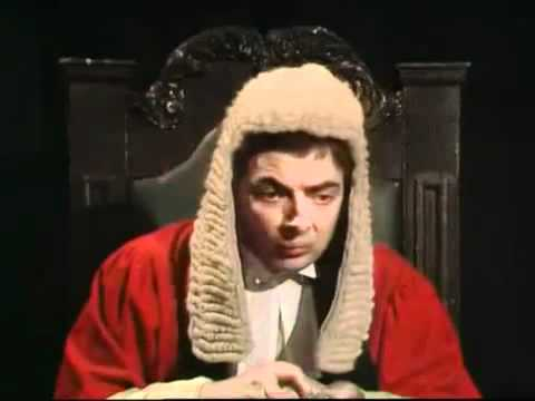 Not the Nine O'Clock News Rowan Atkinson Judge