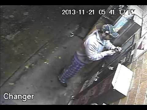 Change Machine thief