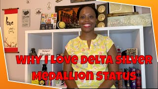 Delta Silver Medallion Status| Why I love it and how to get it