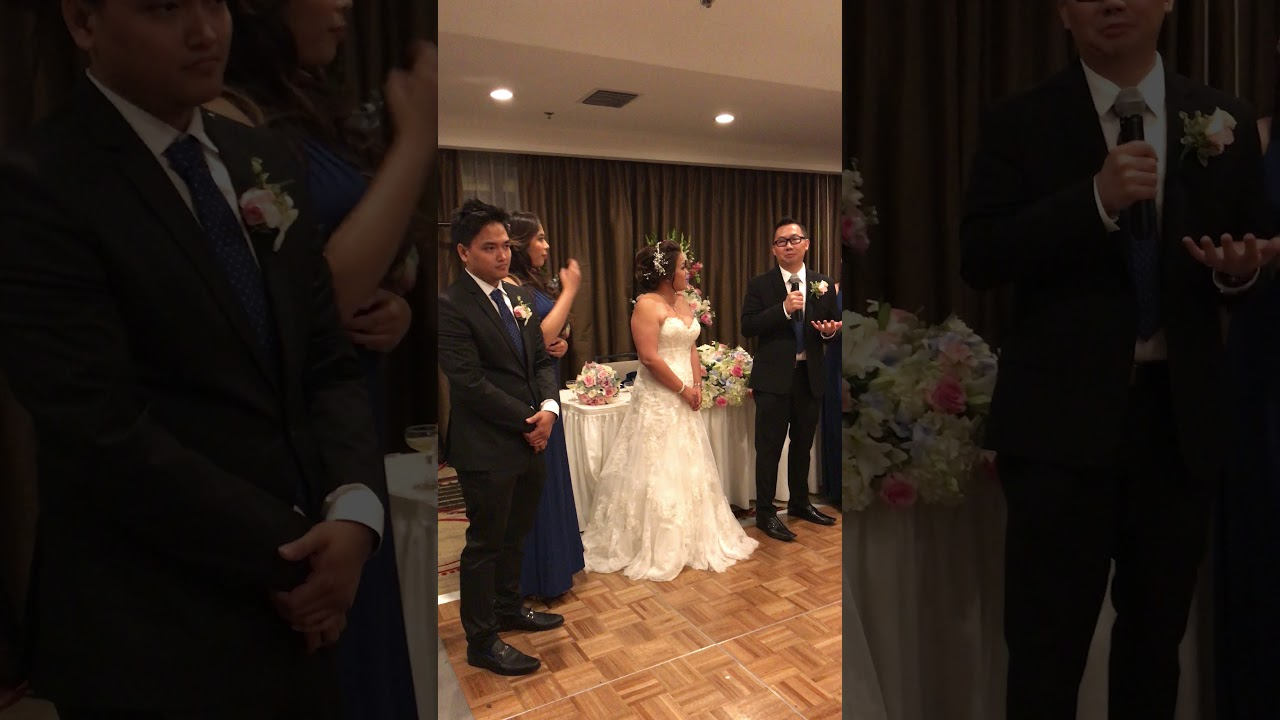 How Long Should A Grooms Speech Be: Cisca And Michael's Wedding Reception