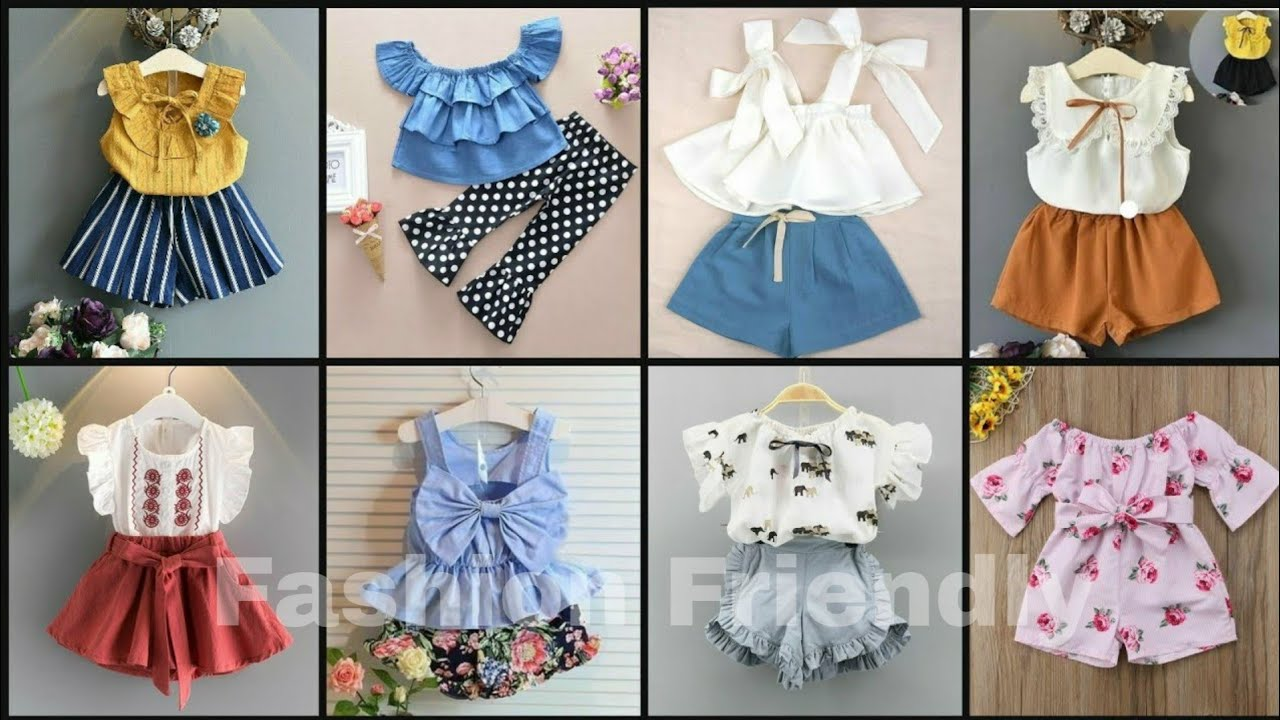 Latest baby girl outfit collection 4/ Cute dresses for kids girls -  Fashion Friendly