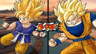 [TAS] DBZ BT3: Goku (GT) Vs Goku (End) (Enhanced Red Potara) (Request Match)