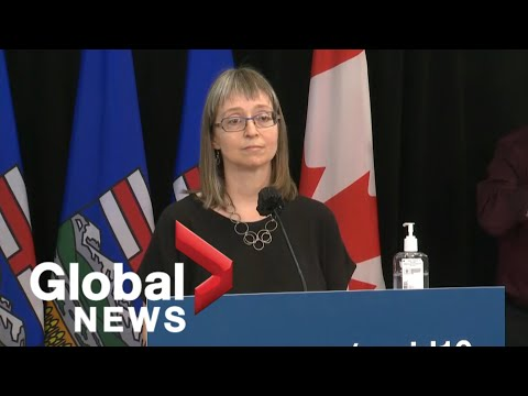 Alberta's top doctor provides update on COVID-19 in the province | FULL