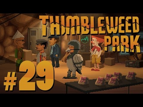 Thimbleweed Park - Secret Society - PART #29