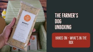 The Farmer's Dog Unboxing  What's Inside The Box 2019