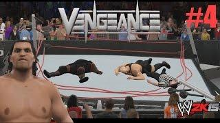 WWE 2K15 Gameplay - Hall Of Pain - Great Khali - Big Show y Mark Henry destruyen el Ring