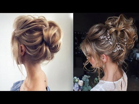 3-Minute Elegant SIDE BUN Hairstyle ★ EASY Summer Updo HAIRSTYLES part 1 2018