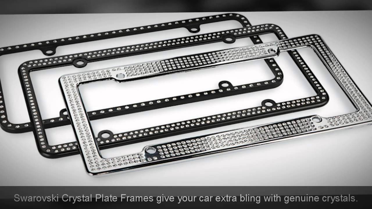 License Plate Frames - 1-800-675-5411 - YouTube