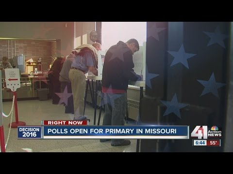 Polls open for Missouri primary
