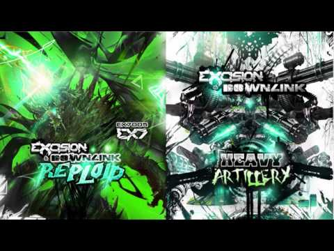 Excision & Downlink - Reploid [EX7005 - EX7 Records]