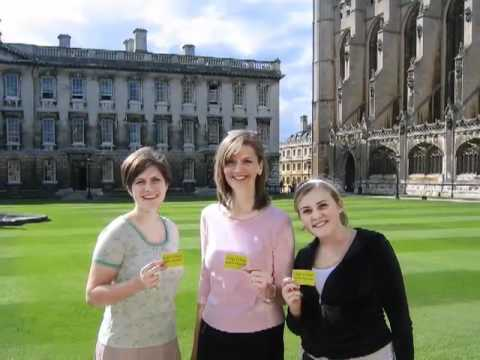 Summer Studies at the University of Cambridge