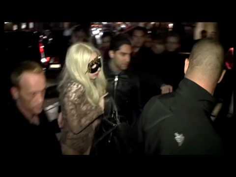 Lady Gagas vingliga fest i Stockholm