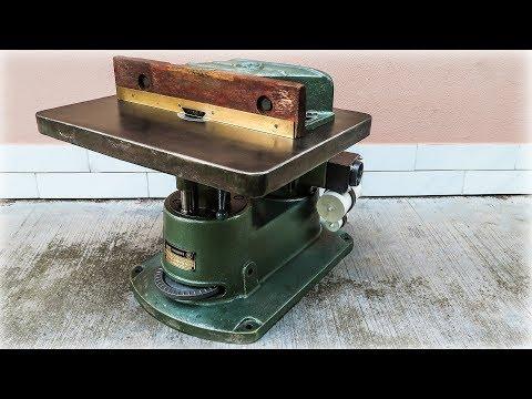 Old Wood Shaper Back In Use (Cleanup / Restoration)