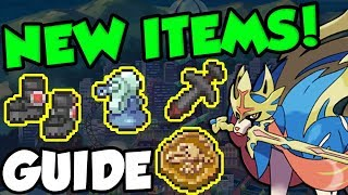 ALL NEW ITEMS IN POKEMON SWORD AND SHIELD! Pokemon Sword and Shield Item Guide