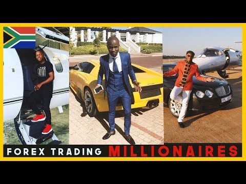 South African Forex Trader Millionaires | Sandile Shezi, Cashflow Ngcobo