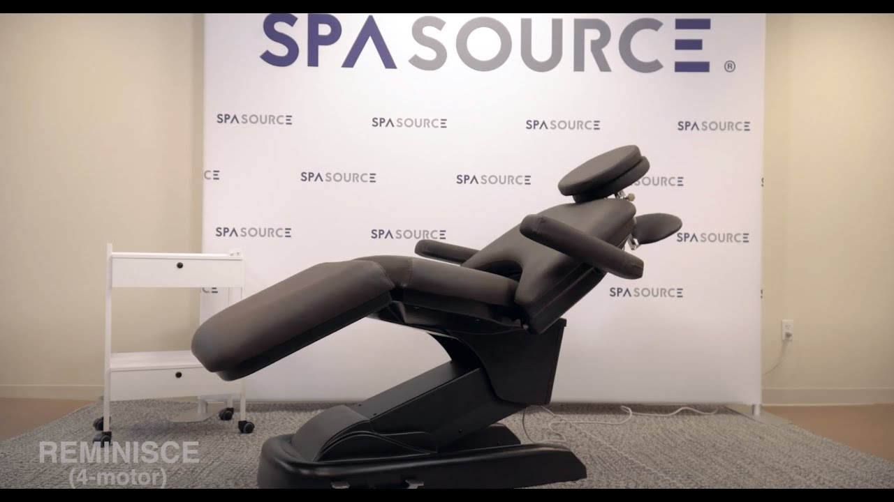 Spa Source - REMINISCE - Rolling Facial Bed & Exam Chair