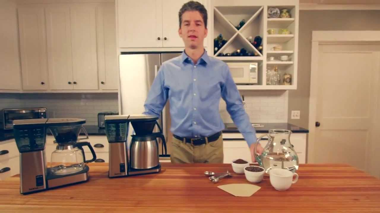 63e807a071bd Bonavita® 8-Cup Coffee Maker with Thermal Carafe - YouTube