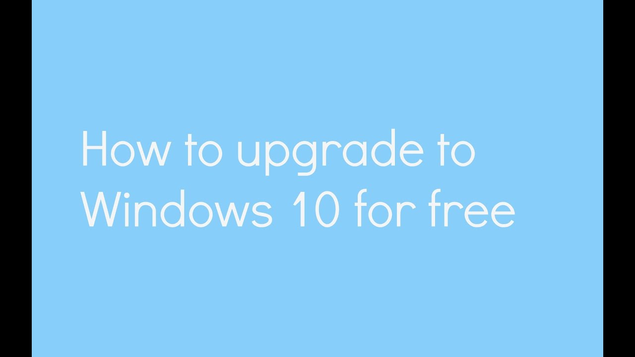 can i still upgrade to windows 10 for free