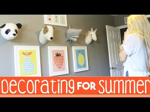 Decorating for Summer | Target Pillowfort | Decorating Inspiration