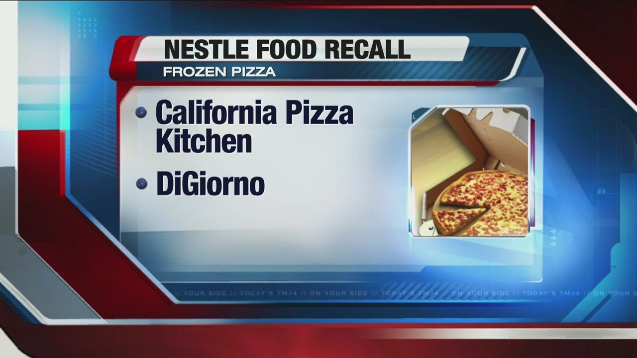Plastic fragments prompt recall of Wis. pizzas - YouTube