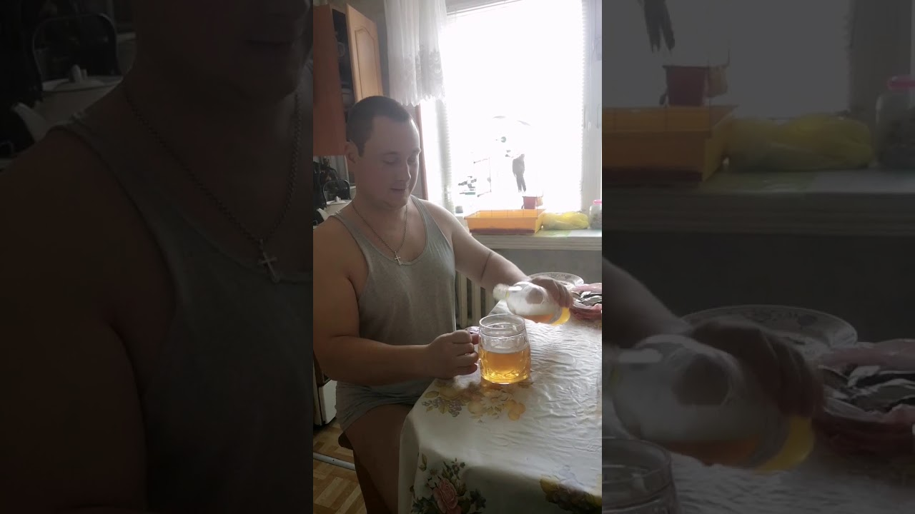 пил пиво и похудел