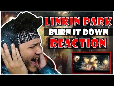🎤 Hip-Hop Fan Reacts To Linkin Park - Burn It Down 🎸