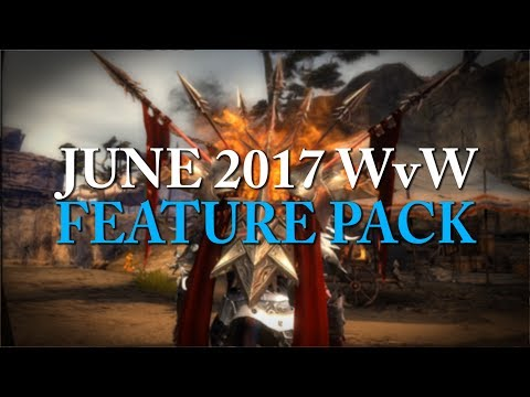 GW2 June 2017 Competitive Feature Pack - Warbringer, Triumphant Mistforged Armour and more!