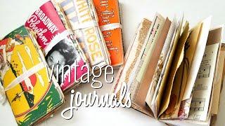 Vintage Junk Journals