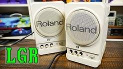 Roland MA-12Cs: Best Retro Computer Speakers I've Had!