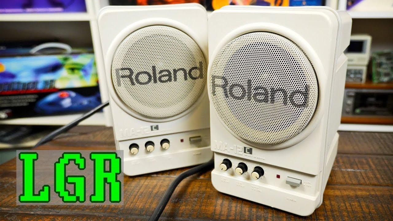 Verwonderend Roland MA-12Cs: Best Retro Computer Speakers I've Had! - YouTube HA-28