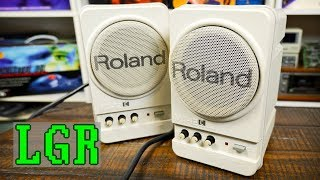Roland MA-12Cs: Best Retro Computer Speakers I've Had!