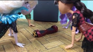 """The Hover board!!"" An Ever After High Stop  Motion"