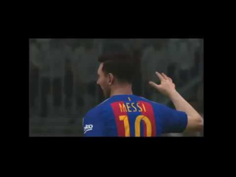FC Barcelona vs Real Madrid |PES 2017 Challange with Friend |