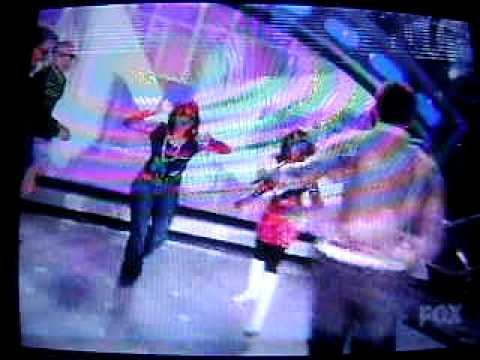 American Idol Group Disco Dance