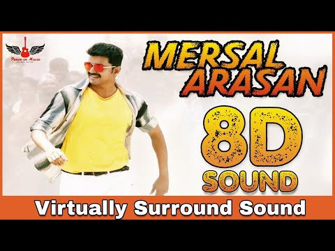 Mersal Arasan | 8D Audio Song | Mersal | Vijay | A.R.Rahman | Tamil 8D Songs