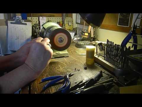 Antique Amber Ear Ring Repair
