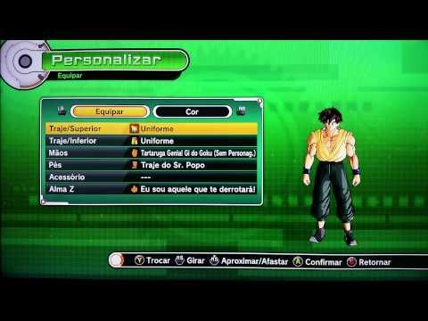 Como criar um personagem forte - dbx - Dragon ball xenoverse - APRENDENDO A JOGAR  ☜═㋡