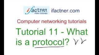 What is a networking protocol in Hindi Urdu, Computer Networking tutorial 11