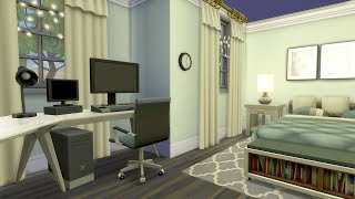 YOUTUBER BEDROOM // The Sims 4: Room Build