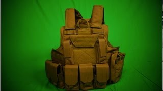 Lancer Tactical Strike Plate Carrier Vest  Unboxing / Overview / Adjustment Aid