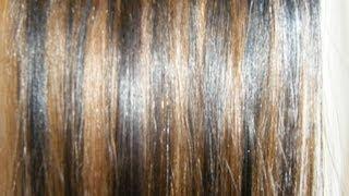 Como pintar en extensiones de cabello RAYITOS!