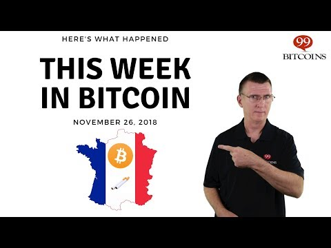 This Week In Bitcoin - Nov 26th, 2018