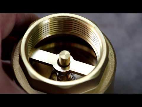 Как устроен обратный клапан. Принцип работы обратного клапана для воды Aquatica Euro